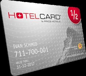 Günstige Ferien mit Hotelcard