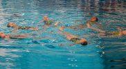 Synchronschwimmen für wasserbegeisterte Kinder